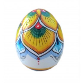 Easter egg yellow peacock