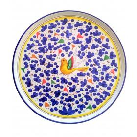 Pizza plate Arabesco blue
