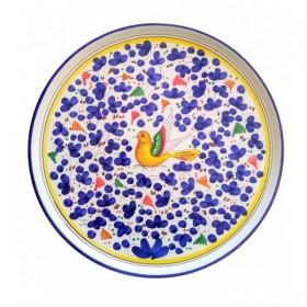 Pizza plate blue Arabesco