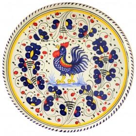 Piatto pizza Gallo blu