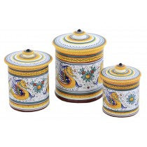 Canisters and jewelry boxes