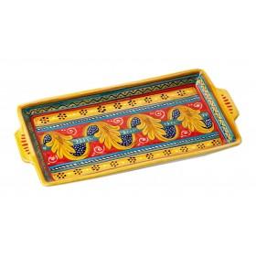 Ceramic tray A