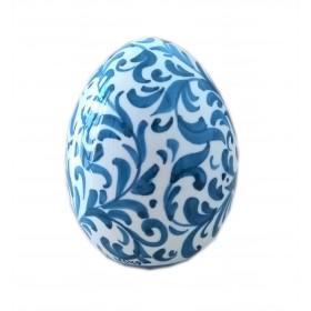 Easter egg Blue leaves