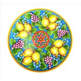 Lemons and grape