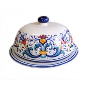 Bargello Butter Dish