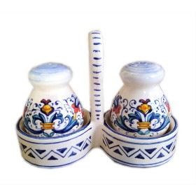 Bargello Salt and Pepper
