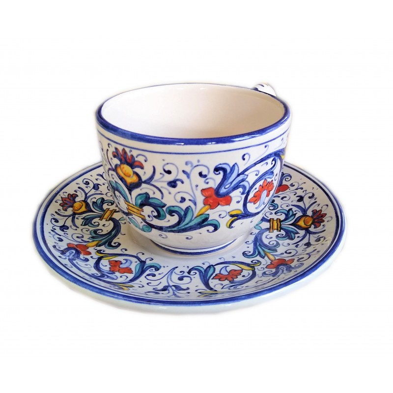 Bargello Cappuccino Cup and Saucer