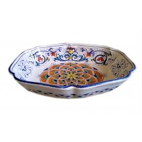 Bargello Legume Dish