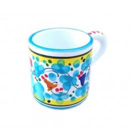 Espresso cup Arabesco light blue