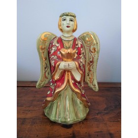 Angel with gold and ruby
