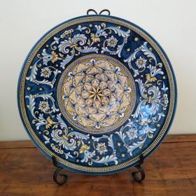 Ceramic plate Michelangelo