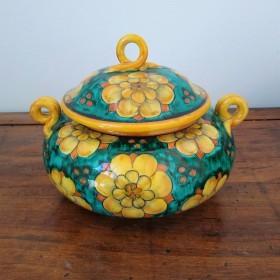 Ceramic box 500 green
