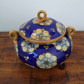 Ceramic box 500 blue