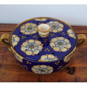 Ceramic flower pot 500 blue