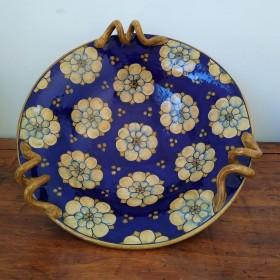 Ceramic centerpiece 500 blue