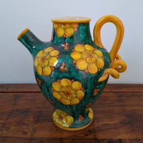 Ceramic pitcher 500 green