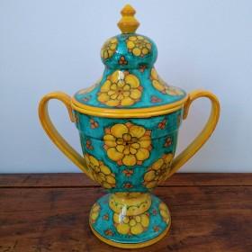 Ceramic sugar pot 500 green