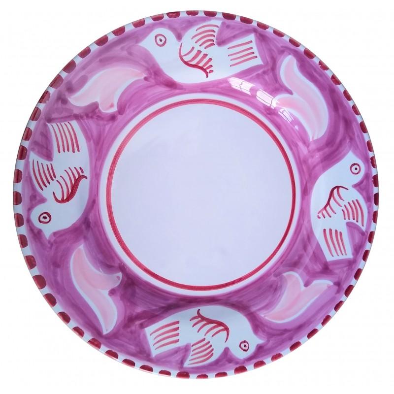 Ceramic plate Dove Positano