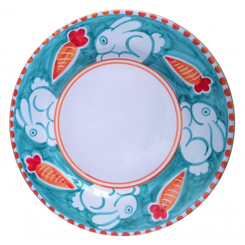 Ceramic plate Rabbit Positano