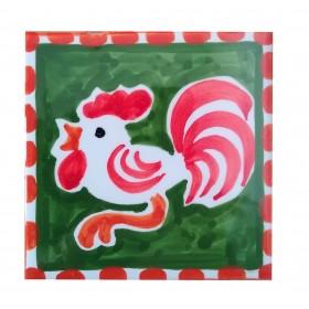 Ceramic tile Rooster Positano