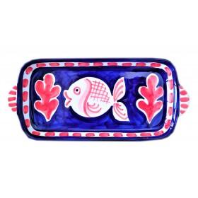 Ceramic tray Fish Positano