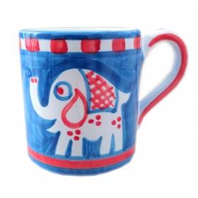 Ceramic mug Elephant Positano
