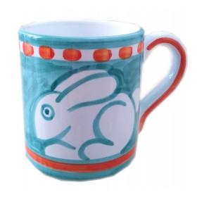 Ceramic mug Rabbit Positano