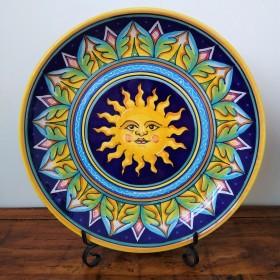 Ceramic bowl with Sun