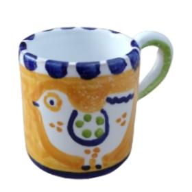 Ceramic espresso cup Bird