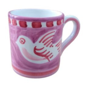 CERAMIC MUG DOVE POSITANO
