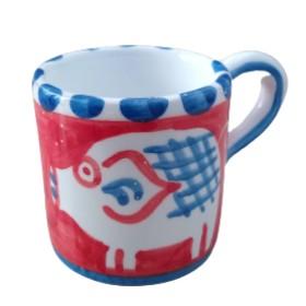Ceramic espresso cup Pig
