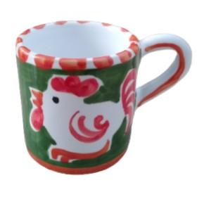 Ceramic espresso cup Rooster