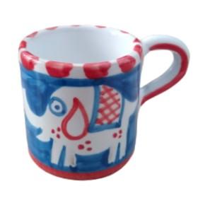 Ceramic espresso cup Elephant