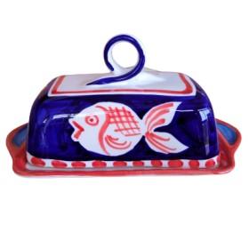 Butter dish Positano fish