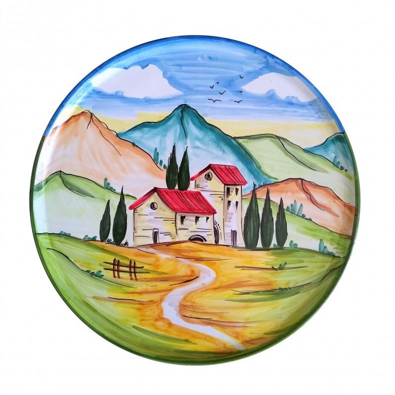 Pizza plate Landscape