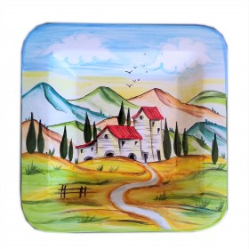 Wall plate Landscape