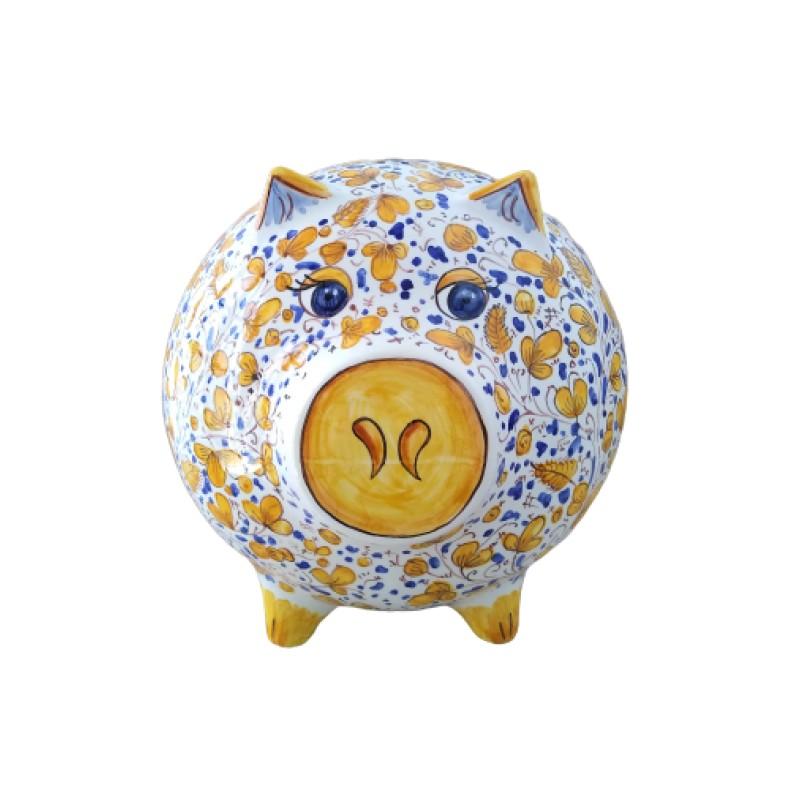 Ceramic piggy bank ancient Arabesco