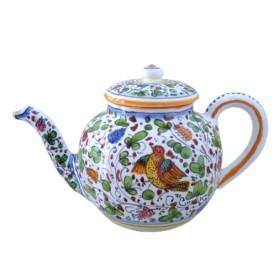 Ceramic tea pot ancient Arabesco