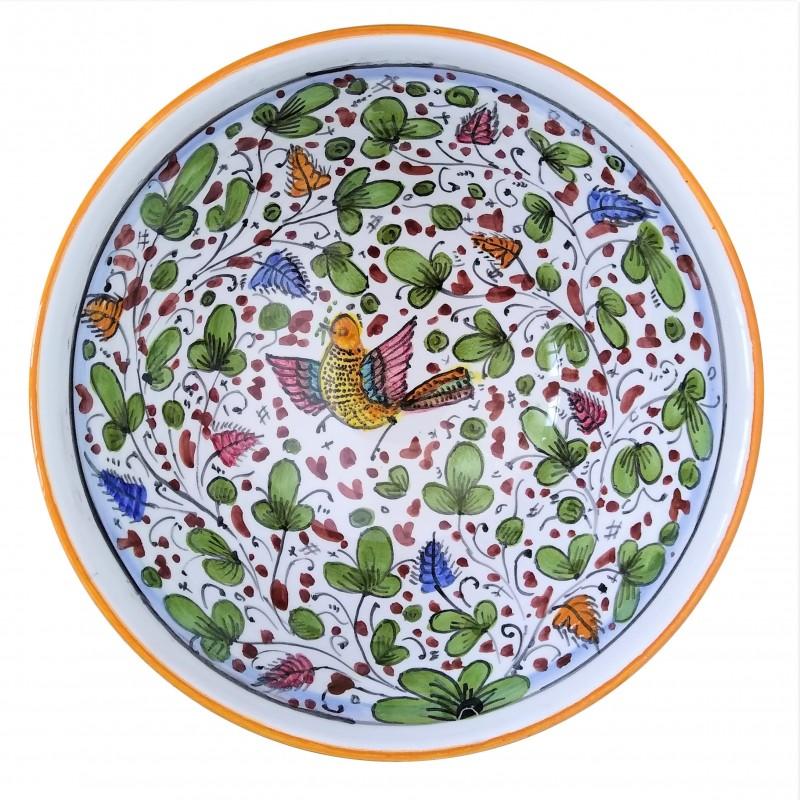Ceramic smooth bowl Arabesco