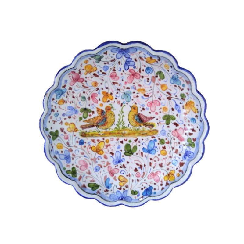 Ceramic centerpiece Arabesco