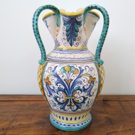 Vase with three handles