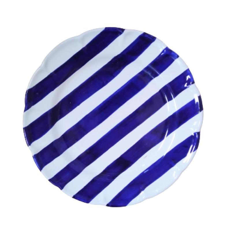 Blue stripes