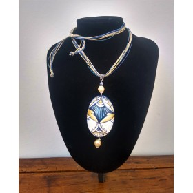 "Ceramic necklace ""Elisa"""